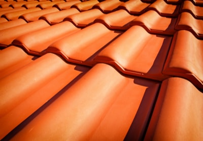 tile roof in Montebello