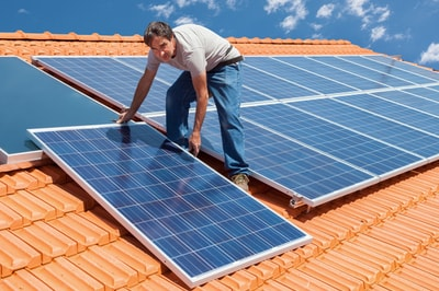 solar panels installation in Sierra Madre