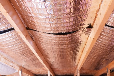 Sierra Madre radiant barrier attic insulation